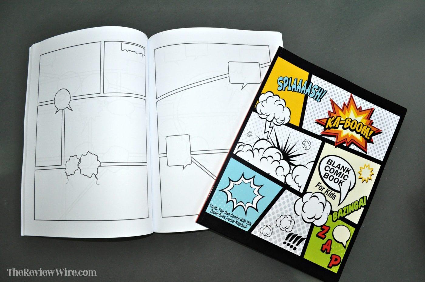 Comic Book Journal Notebook