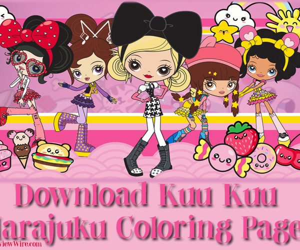 The Review Wire: Download Kuu Kuu Harajuku Coloring Pages
