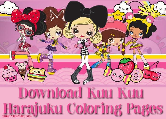 The Review Wire: Download Kuu Kuu Harajuku Coloring Pages