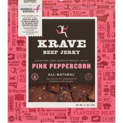 KRAVE Pink Peppercorn Beef Jerky