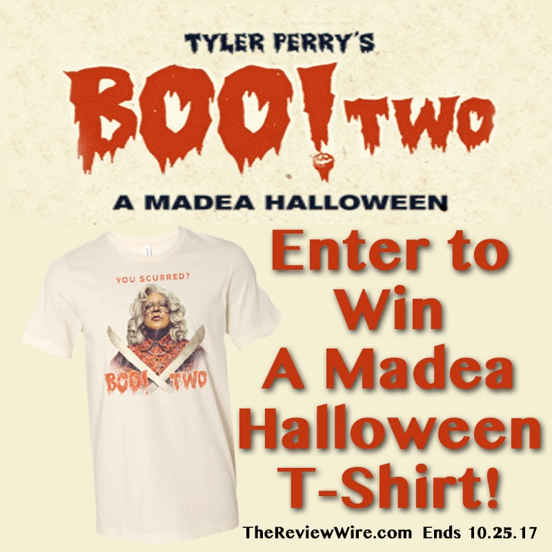 Boo! 2 T-shirt Giveaway