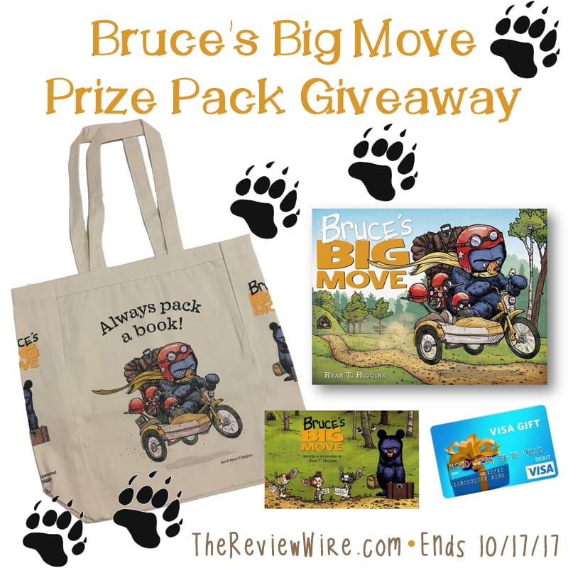 Bruce's Big Move Giveaway
