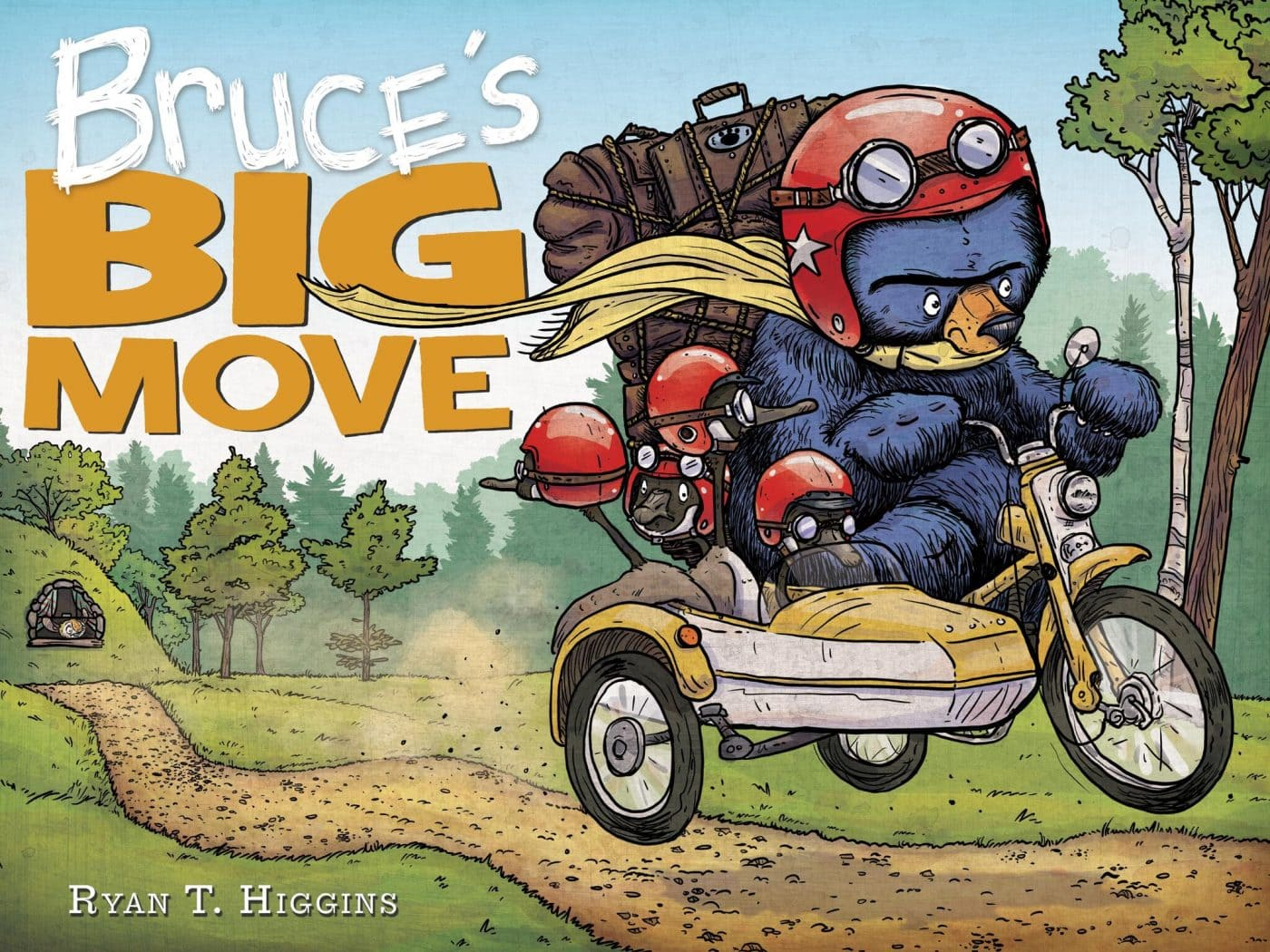 Bruce's Big Move_Cover