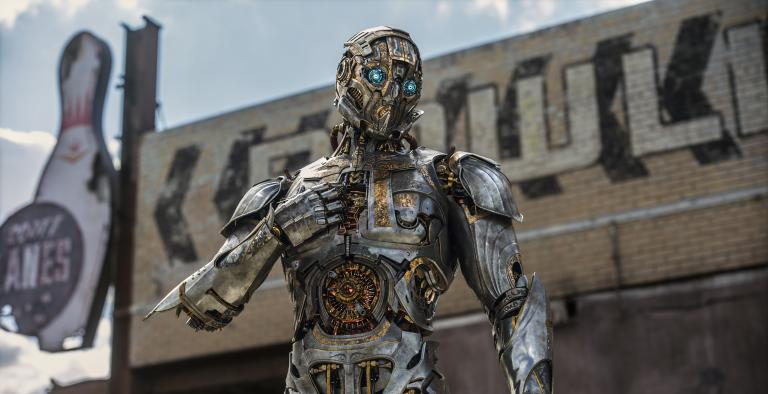 Cogman in TRANSFORMERS THE LAST KNIGHT, from Paramount Pictures.
