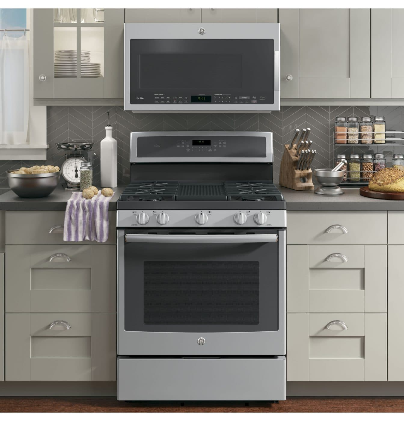 GE Profile Gas Range