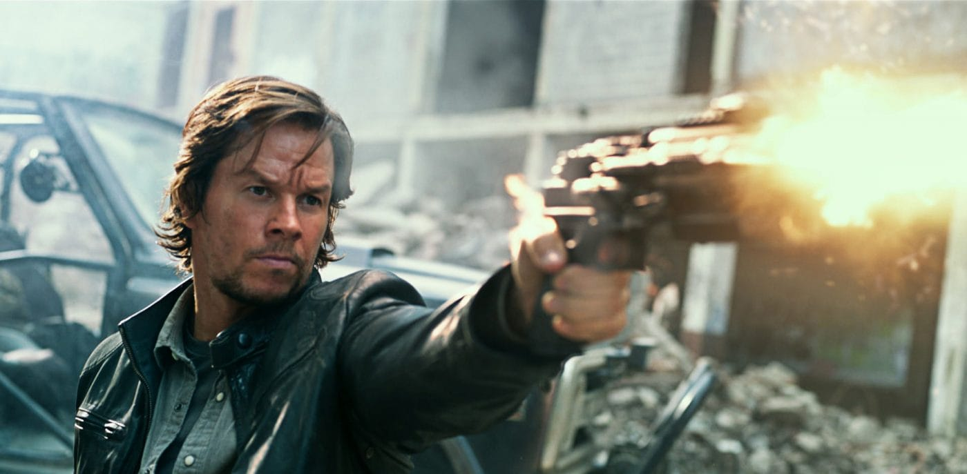 Mark Wahlberg plays Cade Yeager in TRANSFORMERS: THE LAST KNIGHT