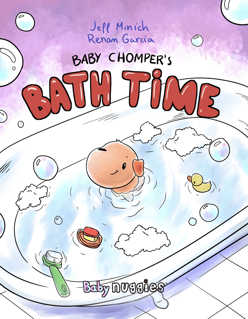 Nuggies Baby Chomper's Bath Time