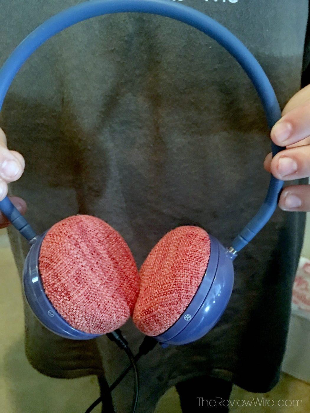The Review Wire June & May Headphone Fabric Padding