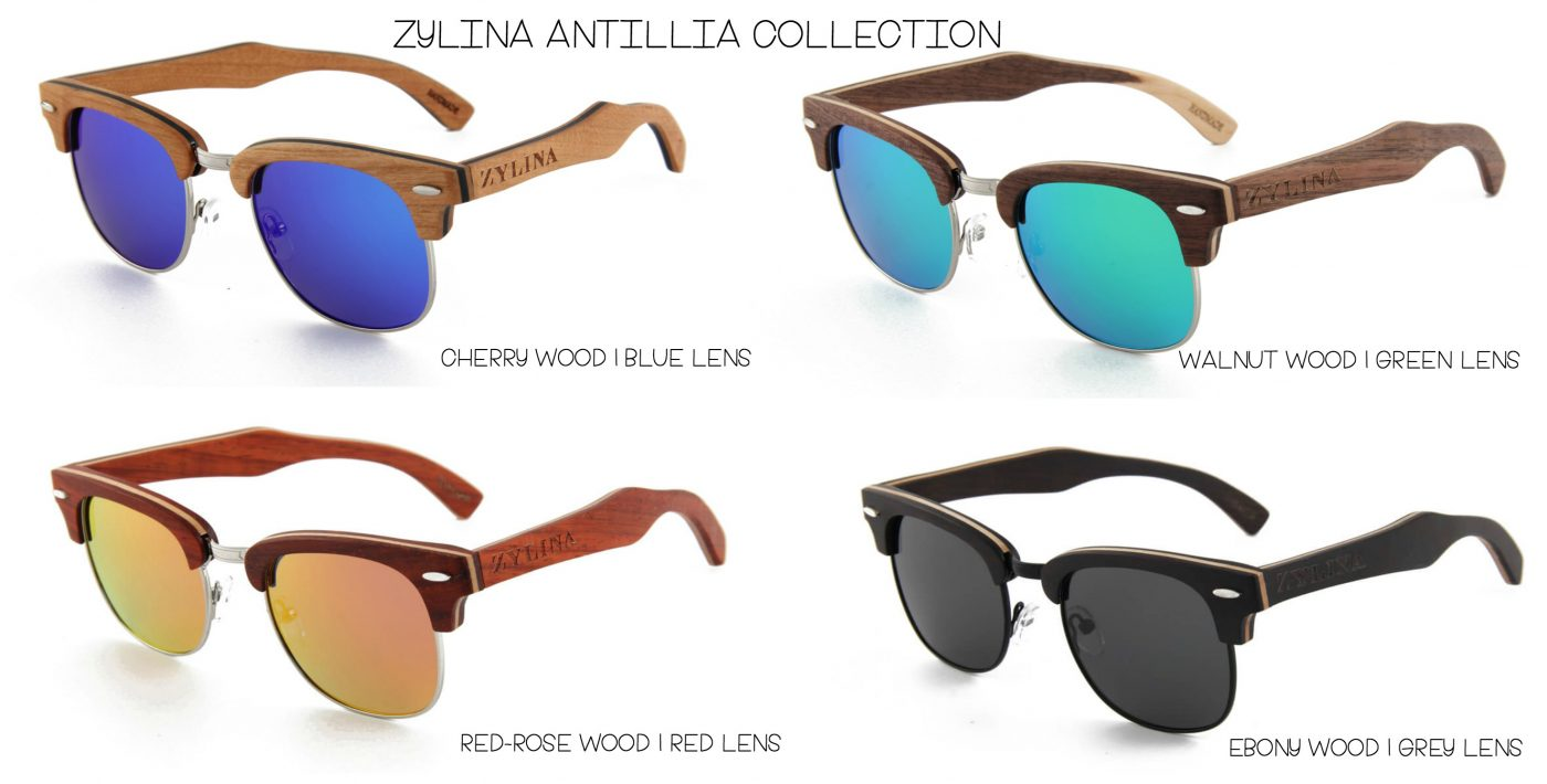 a478d985b39a Zylina Wooden Sunglasses  The Antillia Collection