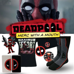 HeroBox Deadpool Merc with a Mouth Edition