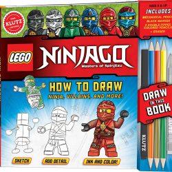 LEGO NINJAGO How To Draw Ninja, Villains, And More! Drawing Set