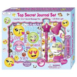 Secret Emoji Personal Diary For Kids