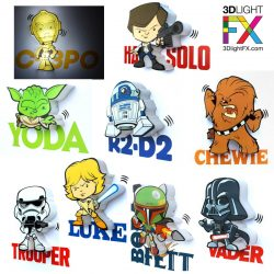 Star Wars Deco Mini 3D Lights