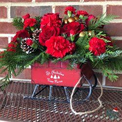 Teleflora Vintage Sleigh Bouquet