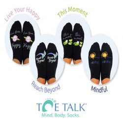 Toe Talk Mindful Socks