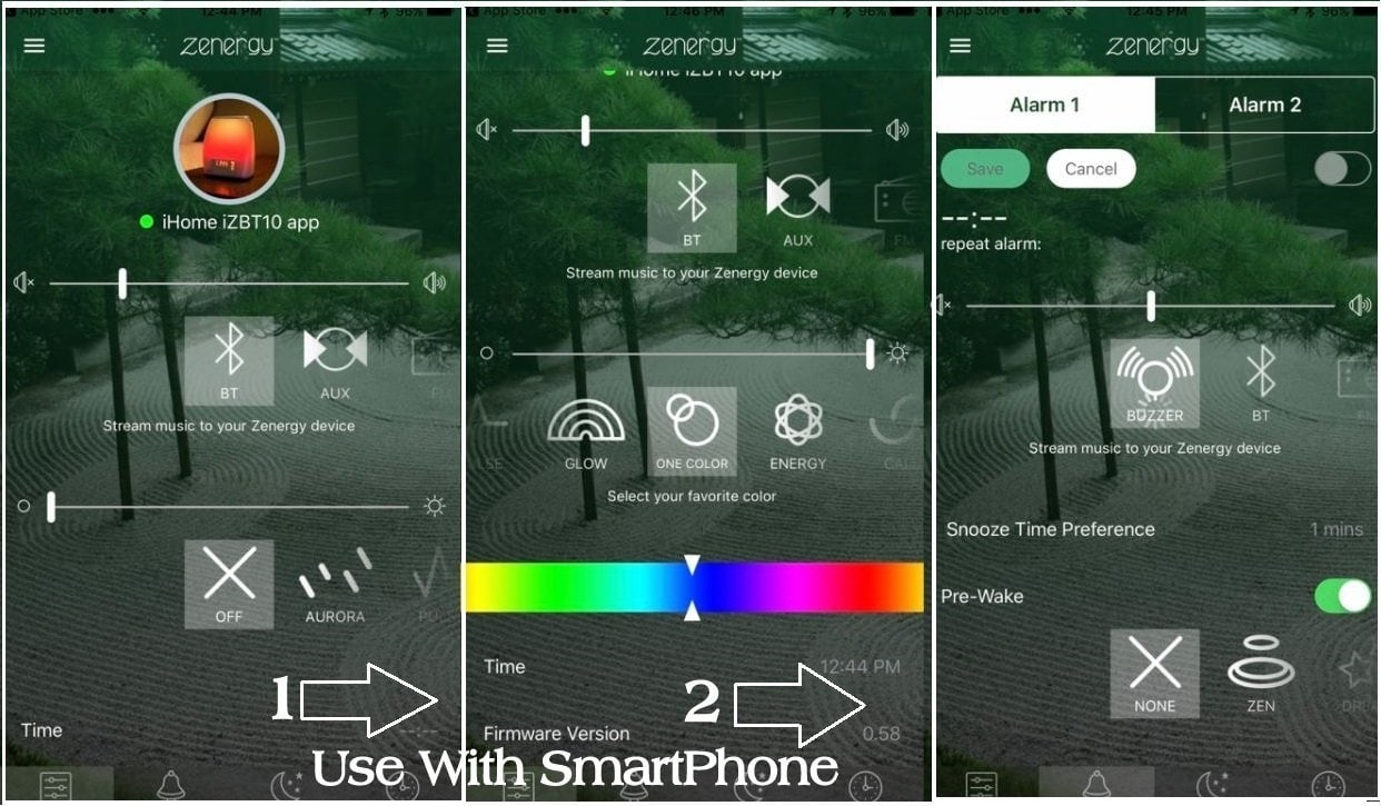 iHome Zenergy App