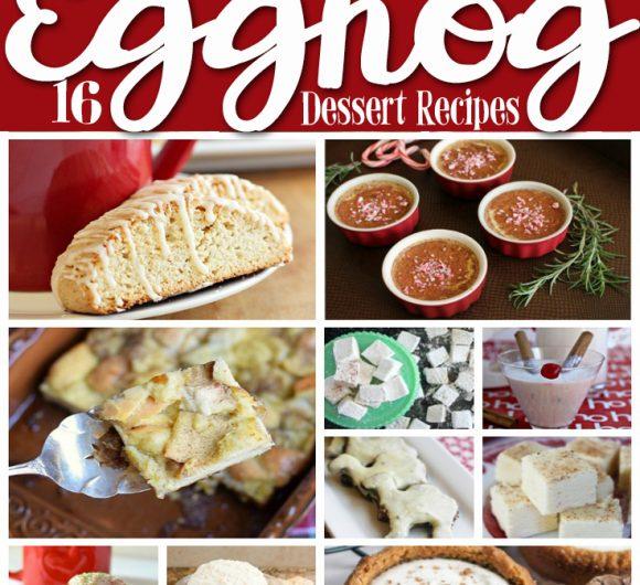 Eggnog Dessert Recipes