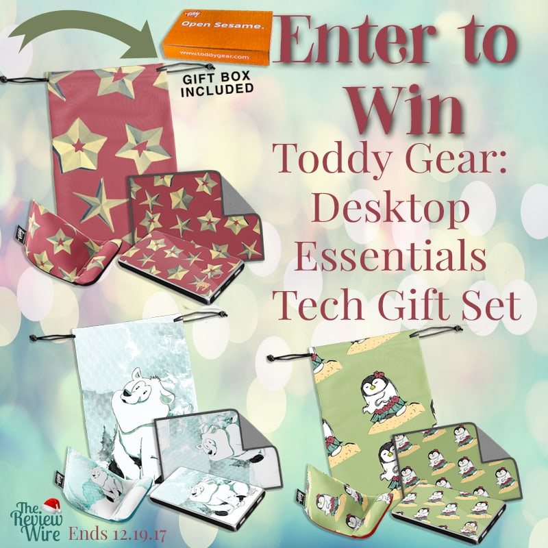 Toddy Gear: Desktop Essentials Tech Gift Set Giveaway | The Review Wire
