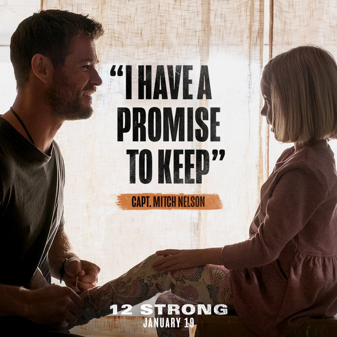 12 Strong Movie Capt. Mitch Nelson