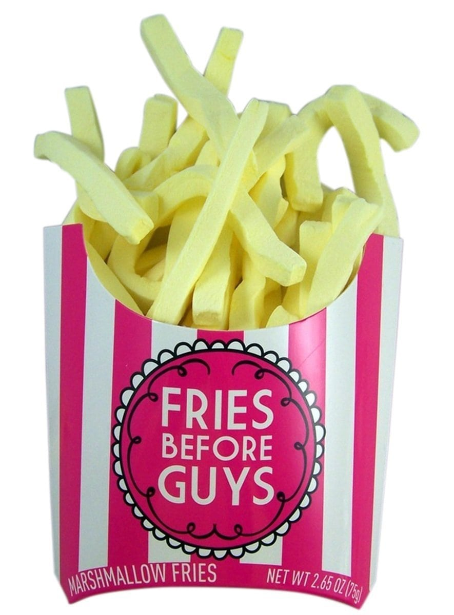 Fries Before Guys Candy Marshmallow French Fries