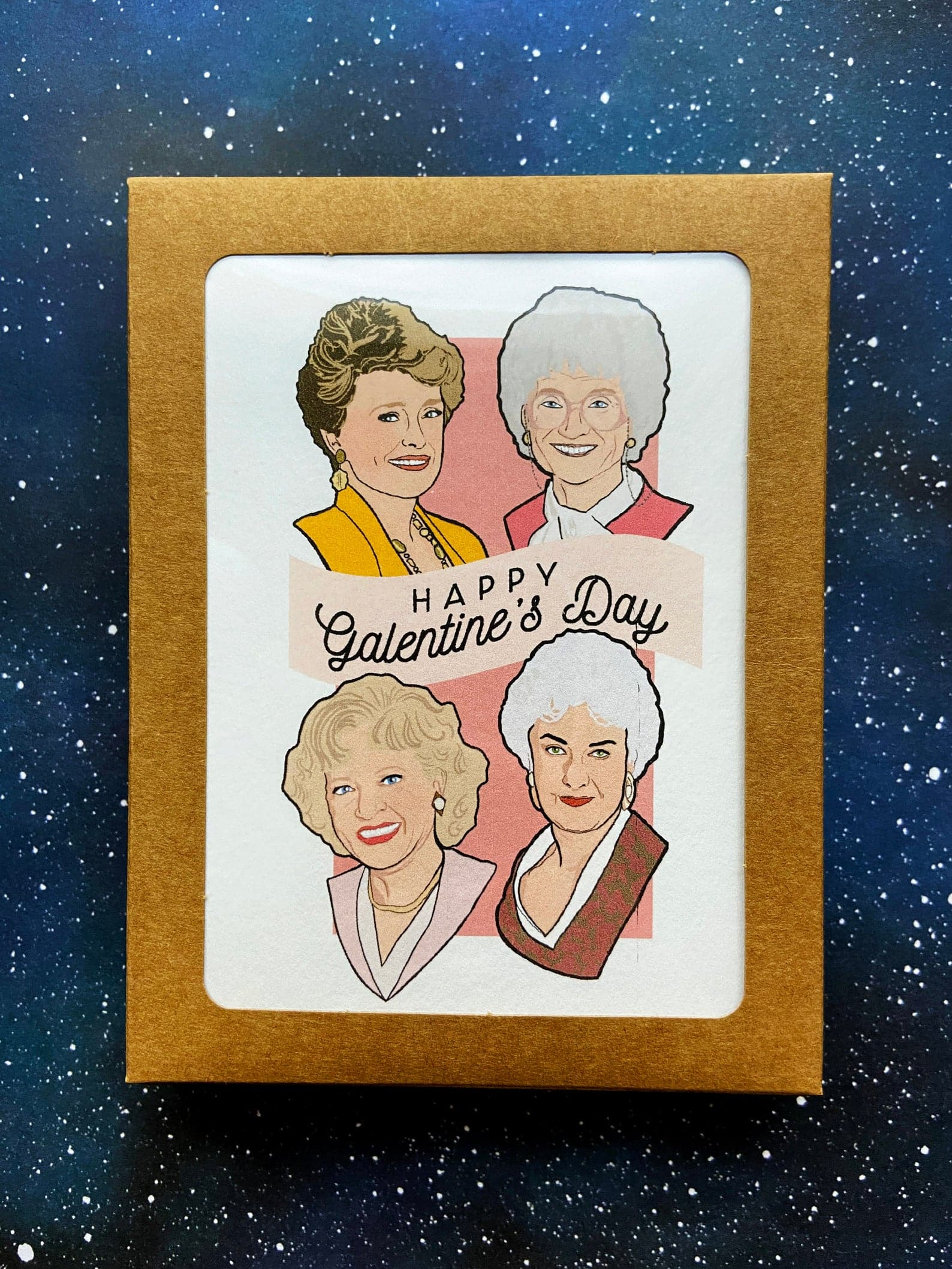 Happy Galentine's Day 6 Pack of Cards