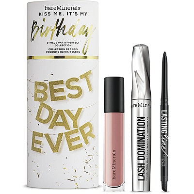 BAREMINERALS Kiss Me, It's My Birthday 3 Pc Party-Perfect Collection