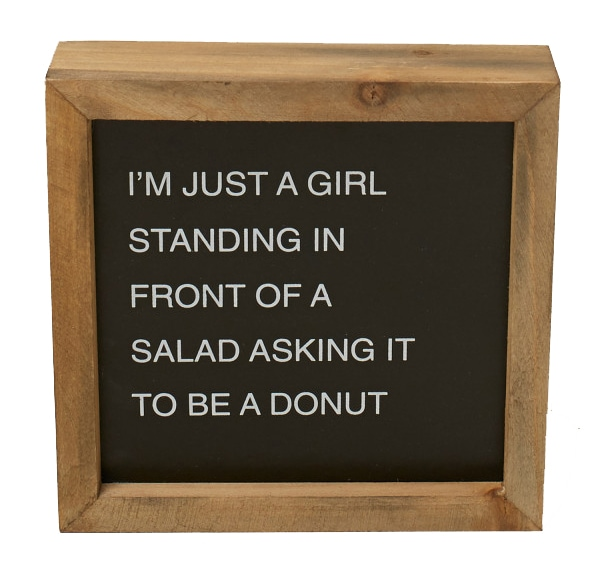 Be A Donut Box Sign