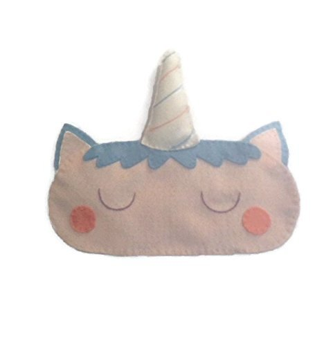 Felt Unicorn Sleep Mask