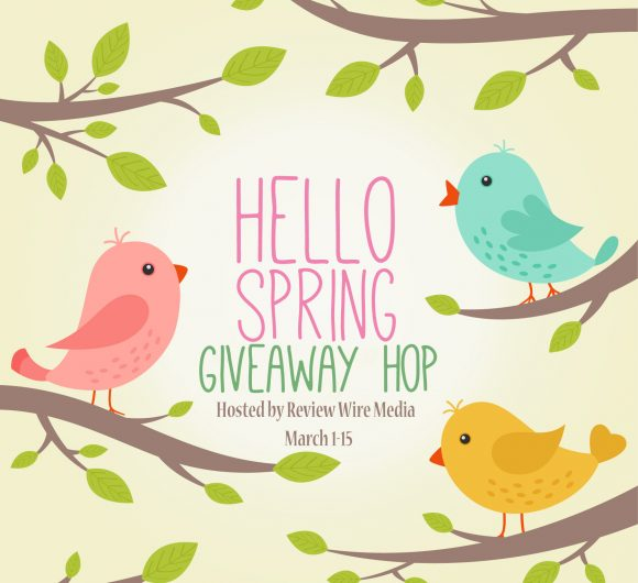 Hello Spring Giveaway Hop. Enter by March 15, 2018