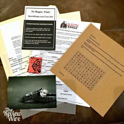 Sleuth Kings Mystery Subscription Box Review