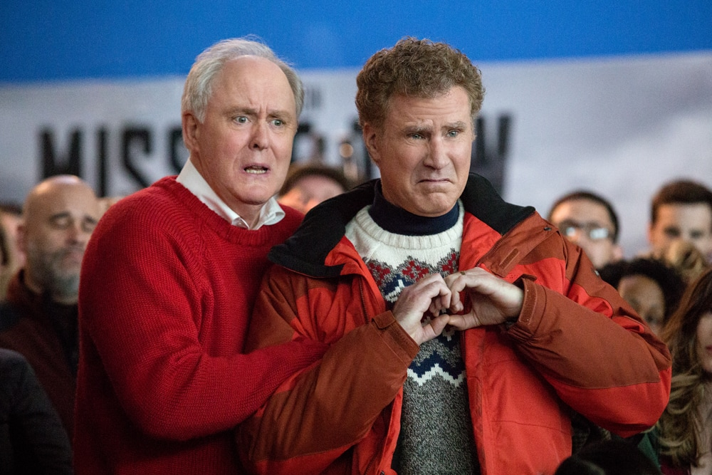 Will Ferrell plays Brad and John Lithgow plays Don in Daddy's Home 2