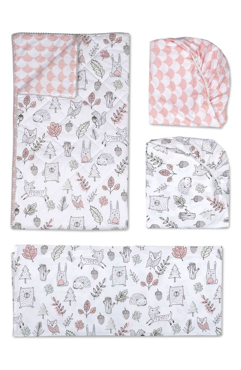 Woodlands 4-Piece Crib Bedding Set