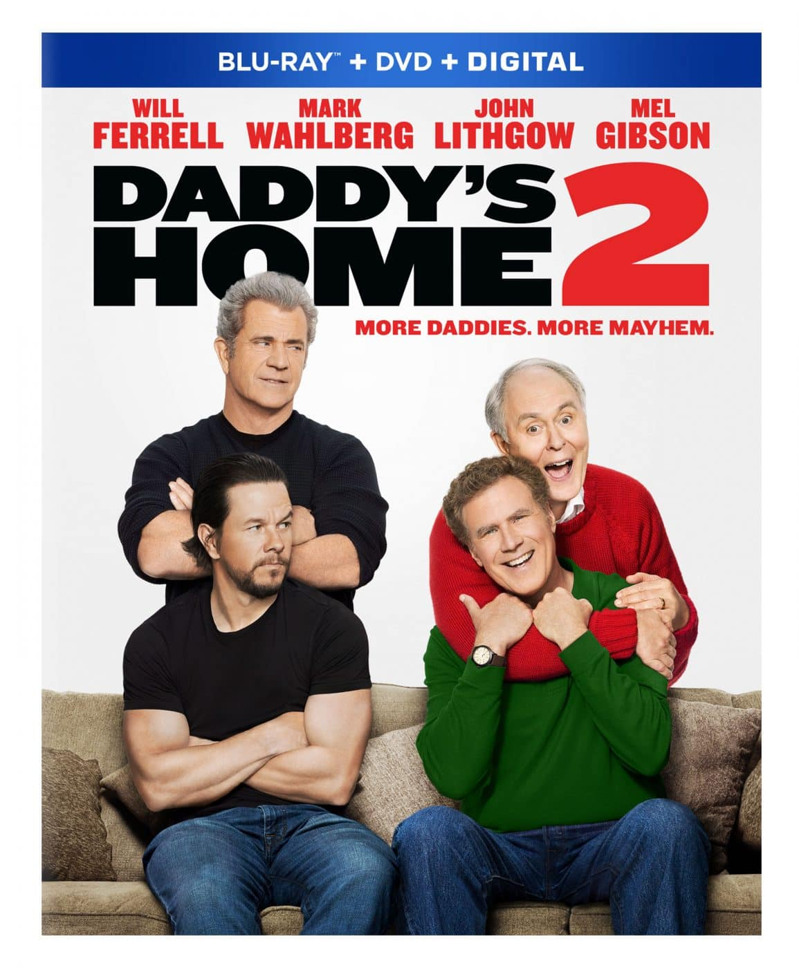 daddy's home 2 bluray combo