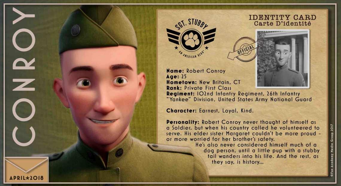 Sgt. Stubby An American Hero conroy-bio-card