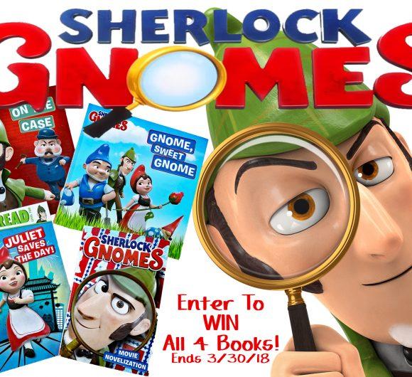 sherlock gnomes giveaway