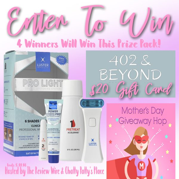 Mother's Day Prize Pack Giveaway