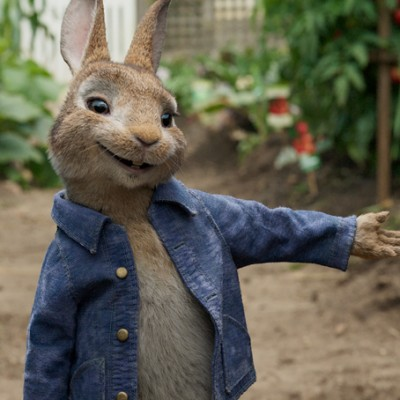 Peter Rabbit Movie Review + Coloring Page