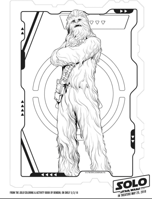 Chewy Coloring Page