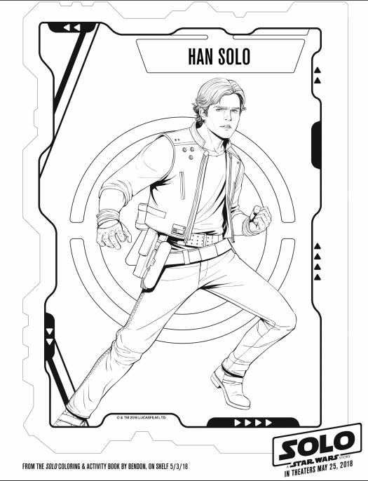 Han-Solo Coloring Page