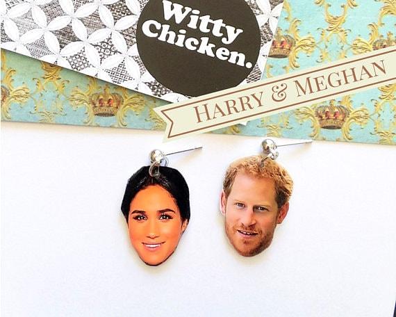 Harry and Meghan Earrings