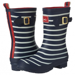 Joules Molly French Navy Stripe Wellies