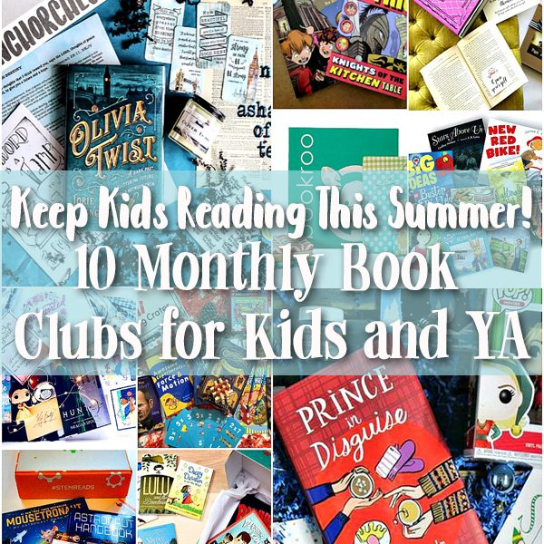 Keep Kids Reading This Summer - 10 Book Clubs for Kids and Young Adults