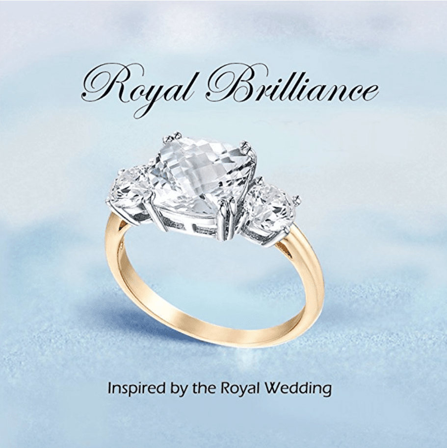 Royal Engagement Ring Inspired by Meghan's Wedding