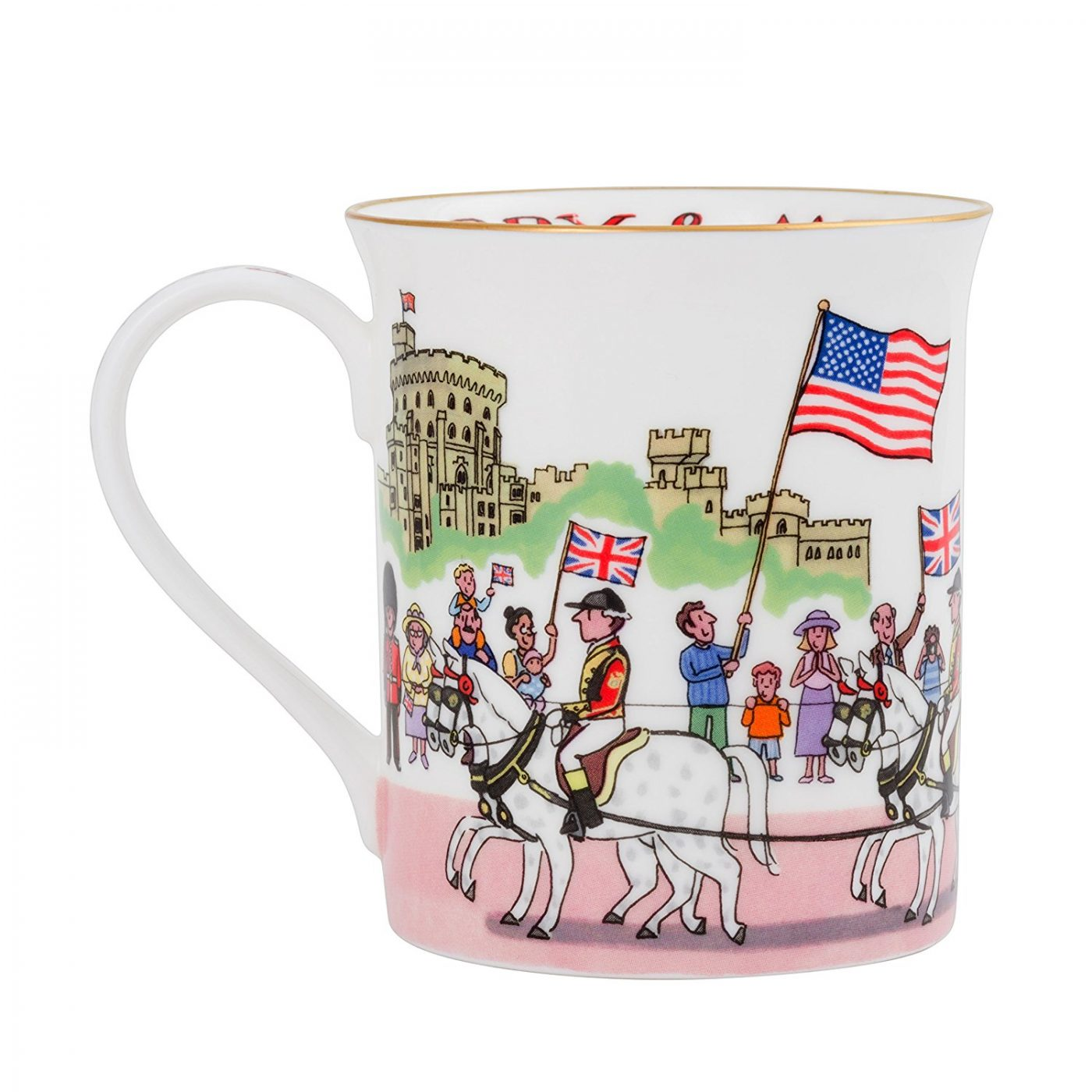 Royal Wedding 2018 Fine Bone China Mug