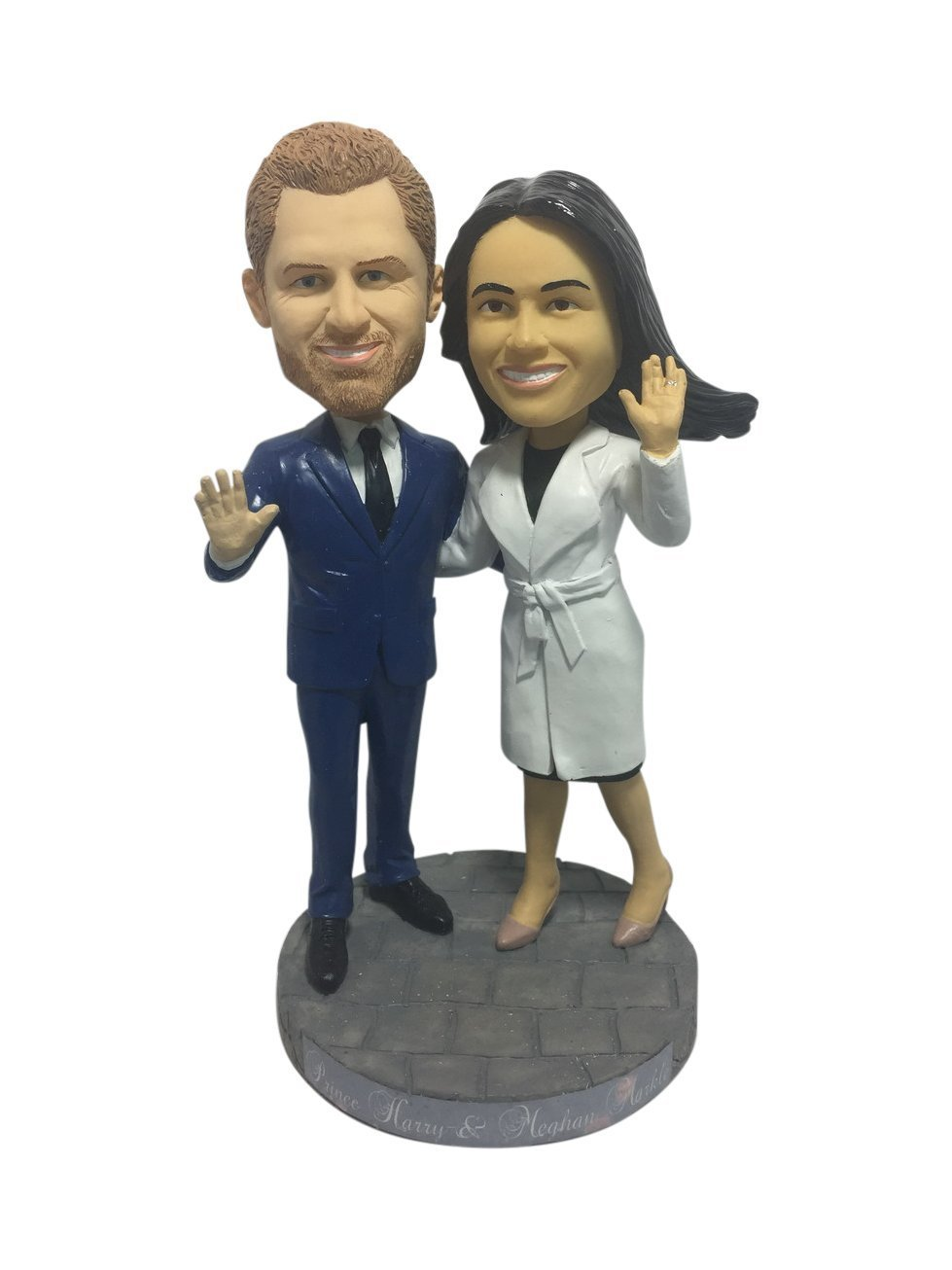 Royal Wedding Bobblehead - Prince Harry and Meghan Markle