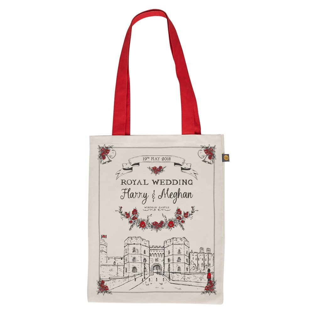 Royal Wedding Canvas Bag