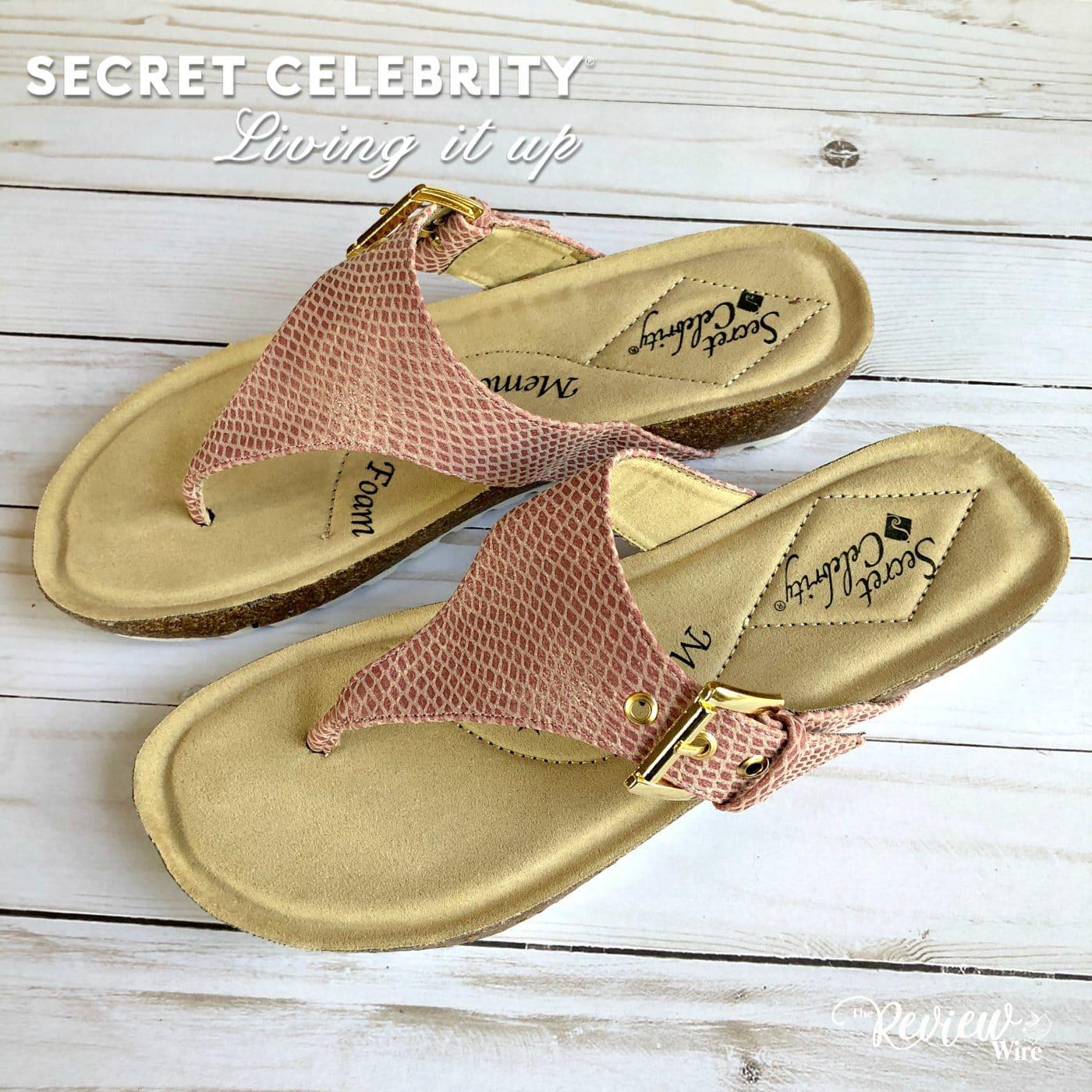 Secret Celebrity Fresh Vibe Sandals