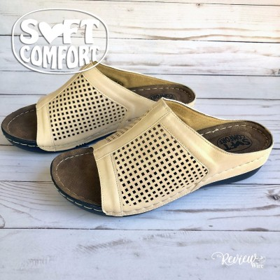 Spring Sandals from Secret Celebrity and Soft Comfort Video Review