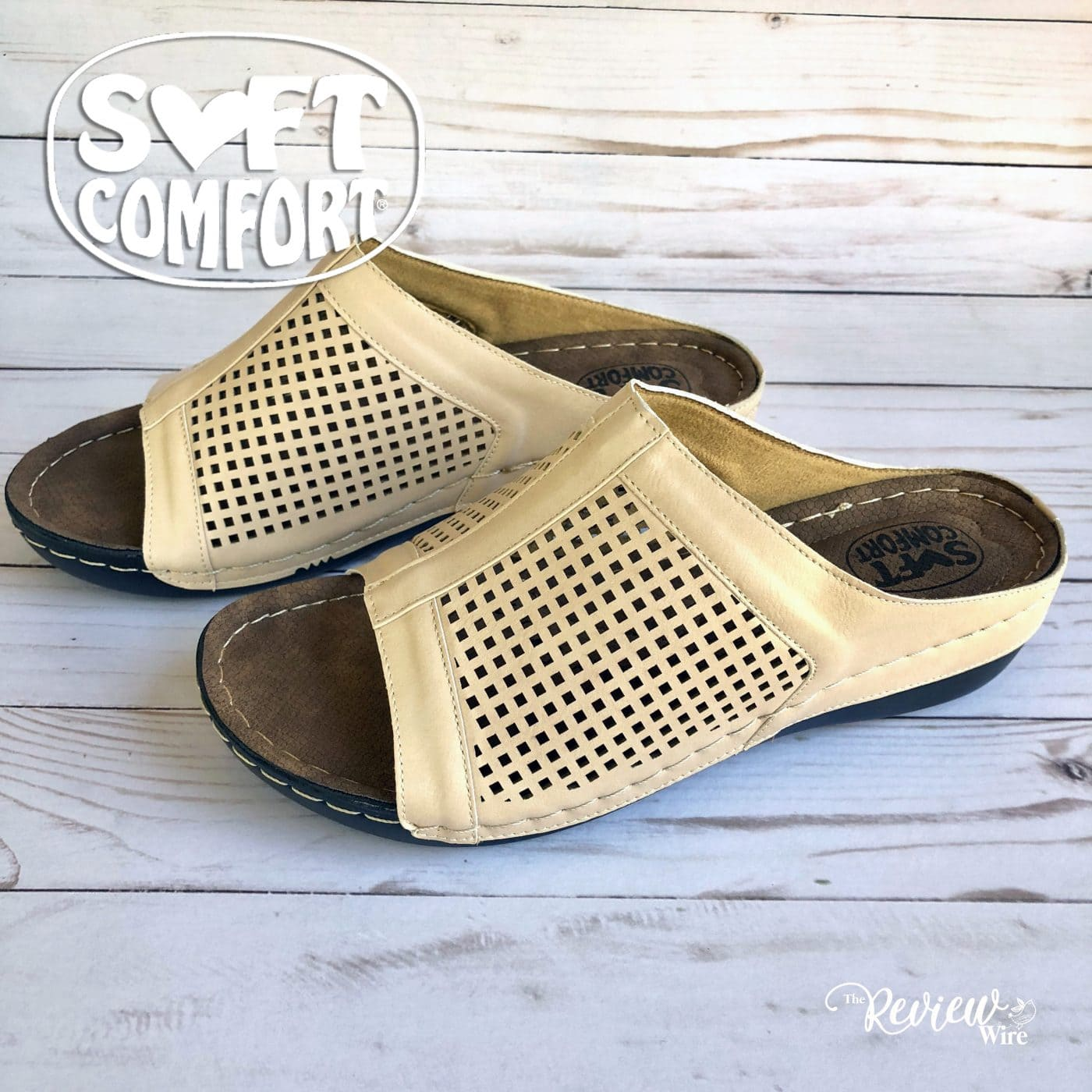 Soft Comfort Skylight Sandals