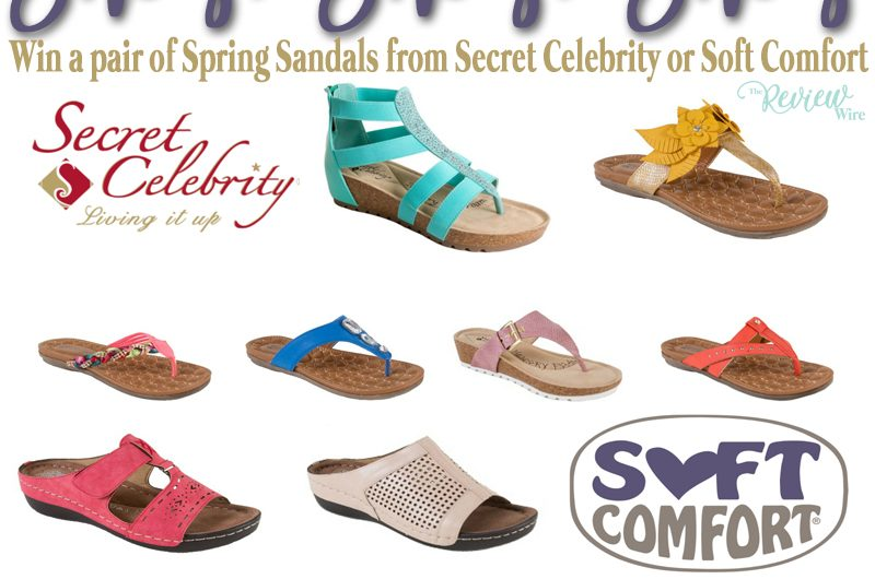 Spring Sandal Giveaway